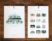 Calendar 2017 #Dream Homes