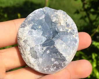 Lovely Celestite Crystal Cluster (5cm wide)