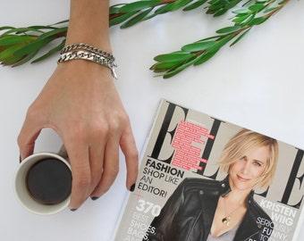 Metal Chain Bracelet, Metal Link Bracelet | Bracelets Collection 2