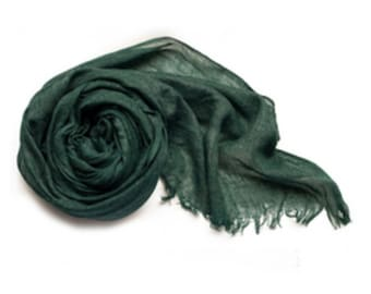 More Colors! Solid Cotton Scarves