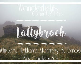 Lallybroch - Outlander Inspired Soy Candle