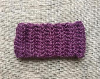 Ribbed Crochet Headband | Winter Headband