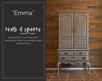 Emma - Vintage Wardrobe, Armoire, Cabinet