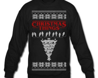 Christmas Things Sweatshirt Design - For the Christmas Party Season