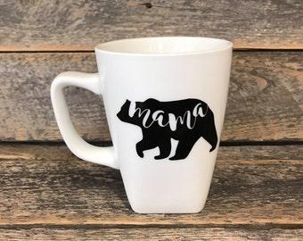 Mama Bear coffee cup