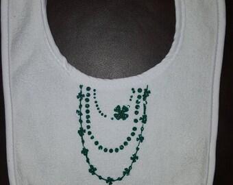 Baby Girl Irish St Partrick's Day Bib