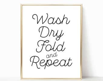 Laundry Wall Art laundry room sign | etsy