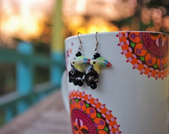 Toucans - fancy earrings