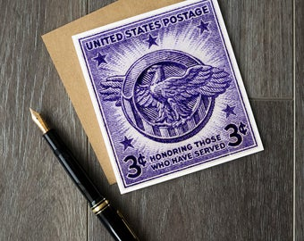 Veterans Day, Veterans' Day cards, World War 2, WW2, US military, US veterans, Army, Navy, Coast Guard, Marines, Merchant Marines, eagle art