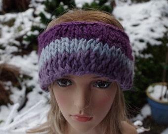 Headband in Lilac tones
