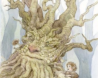 Treebeard, Merry & Pippin