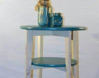 Cute Little Corner 3 Shelf Table