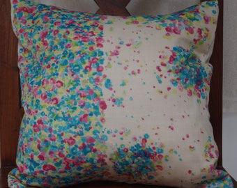 Series 7 rising sun: Cover cushion 40x40cm (16 x 16 inches), cotton printed Japanese nani iro, floral