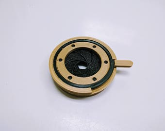 Iris Diaphragm for Steampunk Goggles
