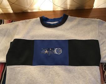 Vintage Orlando Magic embroidered crew neck sweatshirt
