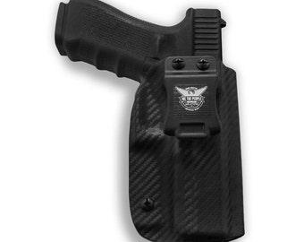 Glock 17 22 31 IWB Carbon Fiber KYDEX Holster