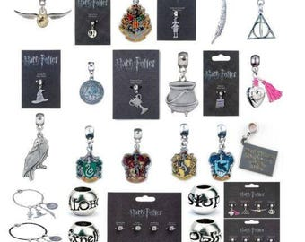 Official Harry Potter Charms Bracelets by The Carat Shop Silver Plated Jewellery