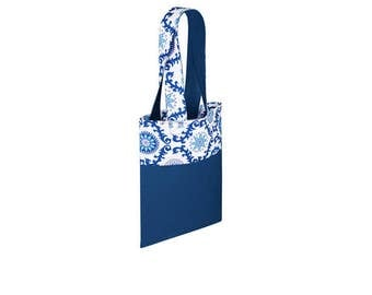 Cotton Bag Loxia Shopping bag Cotton tote bag  - Rainbow Ethnic