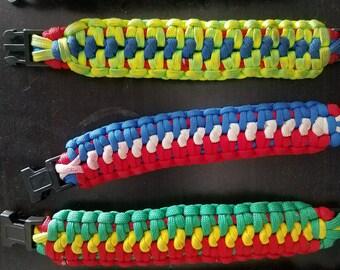 Paracord Bracelet - Snake Trail