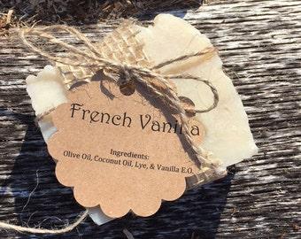All Natural French Vanilla Soap