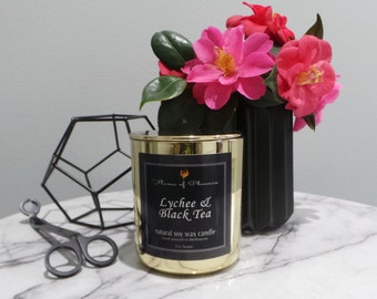 Vogue Range - Natural Soy Wax - Container Candle