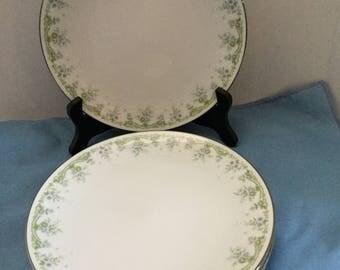 Noritake China set of 4 Salad Plates / DEE Pattern