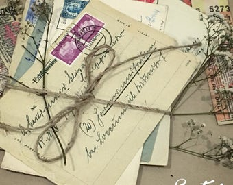 Original Handwritted Vintage Envelopes
