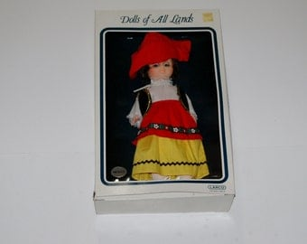 Dolls of All Lands Mexico 12 in