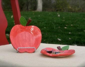 Ceramic Dish, Jewelry Holder, Ceramic Catch All, Ring Dish, Jewelry Storage, Teacher Gift