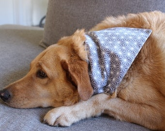 Grey Star Dog Bandana