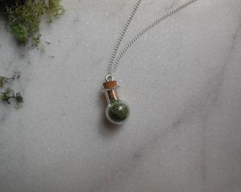 Moss Terrarium Necklace