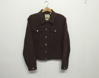 Sale!! Sale!! Vintage Helmut Lang Trucker cotton Jacket Medium Rare