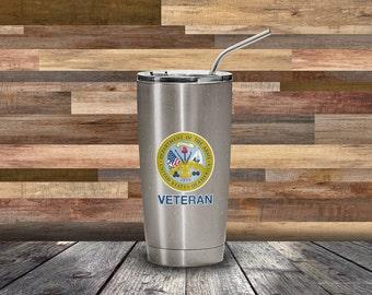 Army Veteran Decal