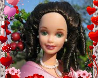 Clearence Section  Hallmark Sweet Valentine Barbie Special Edition Barbie NIB