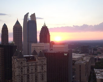 Atlanta Midtown Sunset