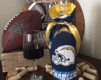 Chargers Wine Gift Bag