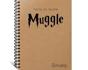 Best Friend Gift - Harry Potter Journal - Notebook - Diary - Harry Potter Gift - Writing Journal - Bestfriend Journal - Bestfriend Notebook