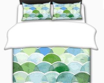 Green Bedding Sets Bedding, Green Bedding Set Toddler, Twin, Queen, King, Green Queen Bedding, Queen Bedding Set, Bedding Set Queen