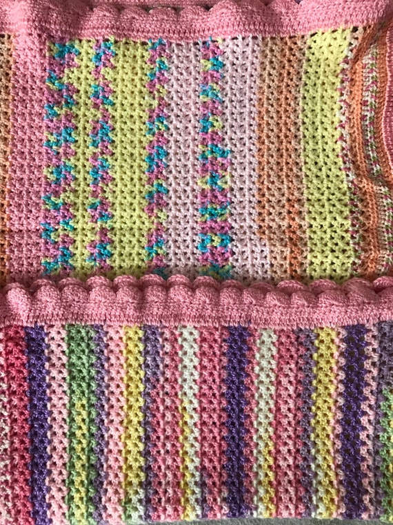 Colorful and Soft Baby Blanket