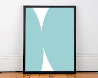 modern art abstract print - art & collectibles