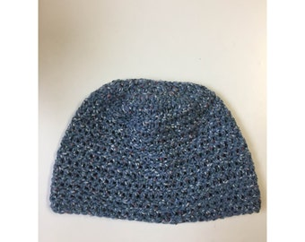 Blue Speckled Beanie