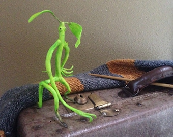 Handmade Pickett the Bowtruckle - Fantastic Beasts