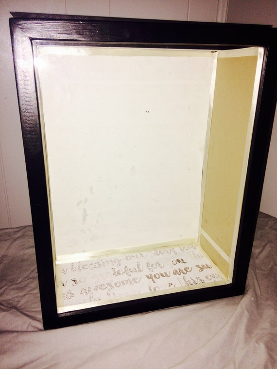 "Shadow Box Display Made to Order 11x14 5"" deep Custom Wedding Special Event"