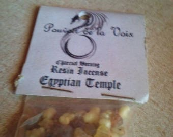 Egyptian Temple Charcoal Burning Resin Incense