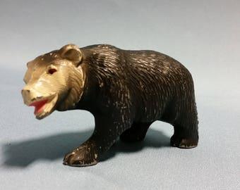Vintage Cast Bear Figure