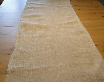 Linen Table Runner, 100% linen, Long table runner, Rustic Table Runner, Brown Table Runner, Natural Tablecloth