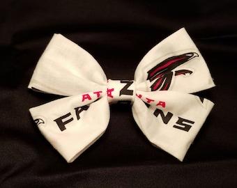 Falcons Fabric Hair Bow
