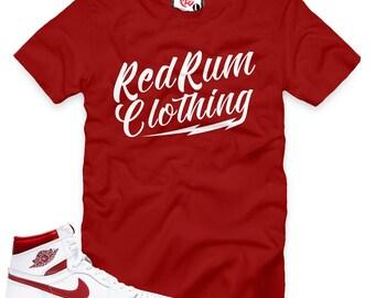 Metallic Red 1 Redrum Clothing T-Shirt