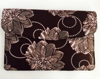 "15"" Ankara Fleur Laptop Sleeve // African Print"