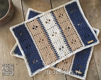 Set (2 pieces) Placemats ' Call the Midwife '
